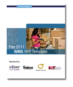 3pl rfp template - now available 2011 warehouse management rfp template