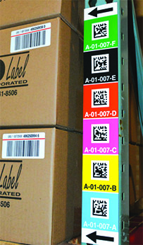 Six Advantages Of Using Vertical Warehouse Rack Labels