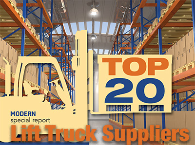 Top 20 industrial lift truck suppliers, 2017 - Modern