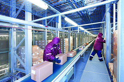 Whether semi- or fully-automated cold storage facilities can automate to cut costs improve labor productivity and achieve compliance. & Cold Chain Embraces Automated Storage - Supply Chain 24/7