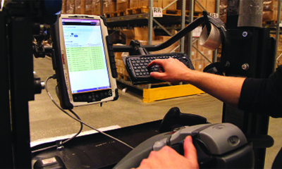 Rugged tablet PC improves order picking and shipping