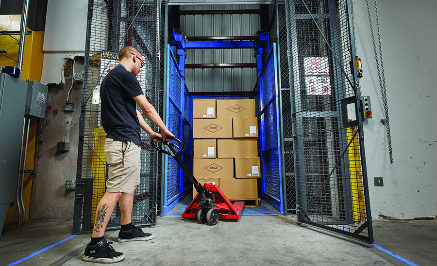 System Report: Luxottica keeps it simple - Modern Materials Handling