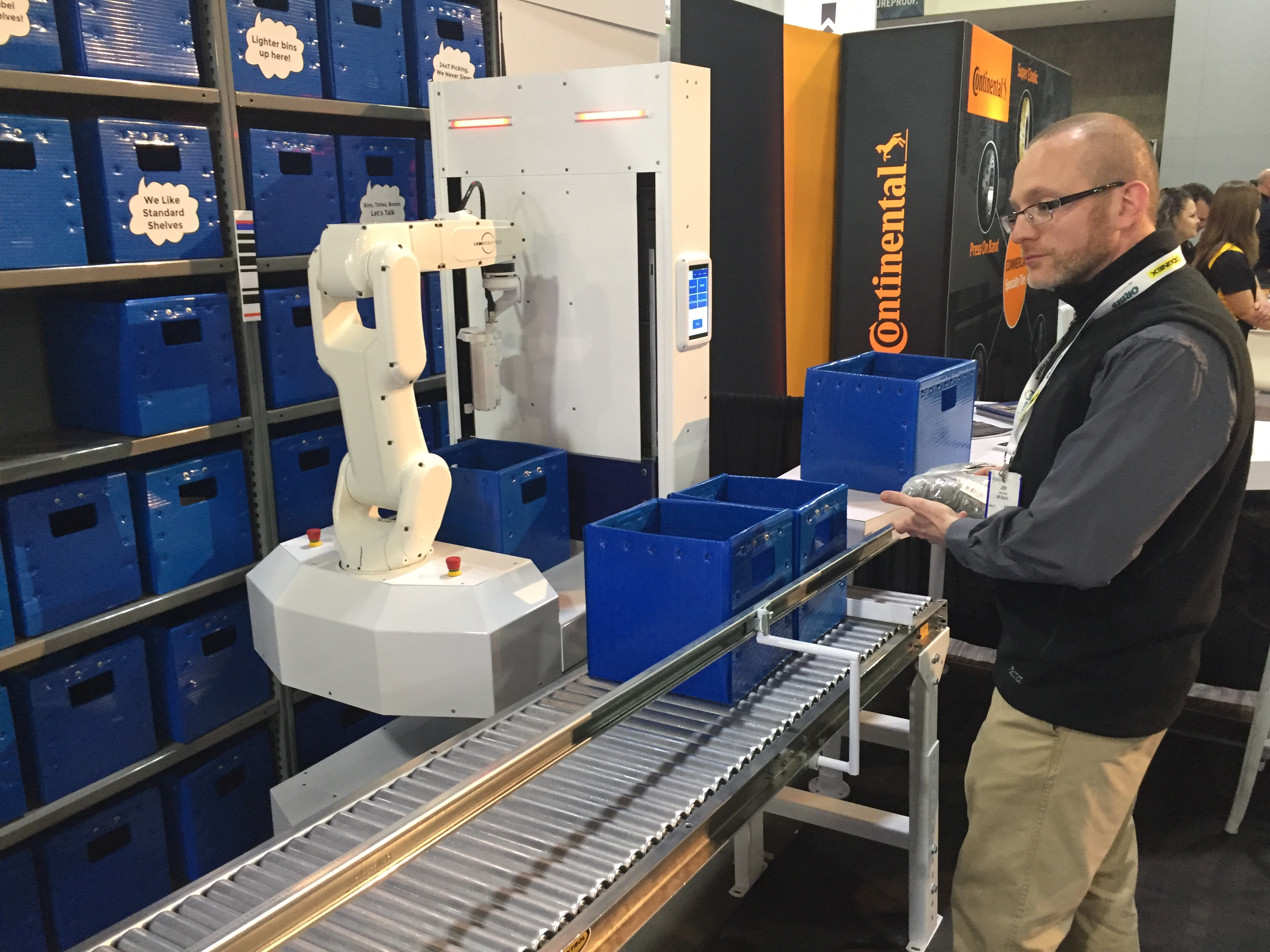 iam robotics launches a flexible warehouse as rs with bin handling