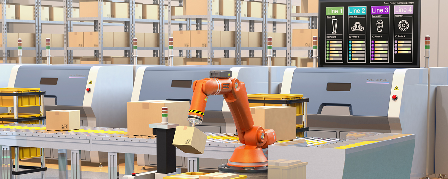 The Warehouse of the Future - Modern Materials Handling