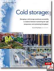 Best practices for managing a cold storage warehouse - Modern